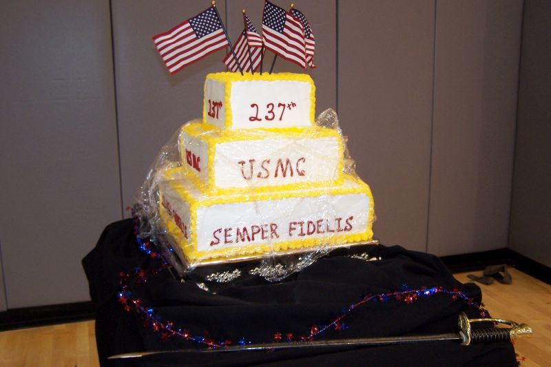 2013 Troy University Usmc Birthday Cake Ceremony Townsend Mcl